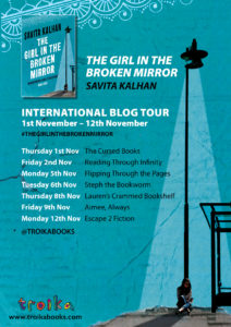 Girl in the Broken Mirror international blog tour