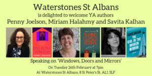 Waterstones St Albans Tweet Card